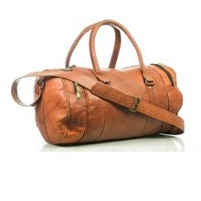 Leather Weekend Leather Travel Bag