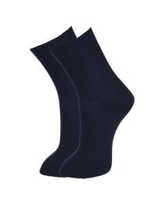 Vinenzia Navy Blue Diabetic Health Socks