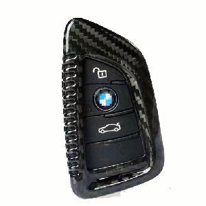 Carbon Fiber Key Cover (premium Car Accessories - Dealkarde )