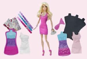 Fashion Design Plates Barbie Doll