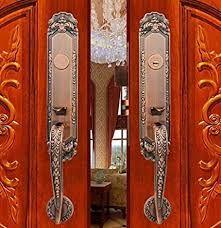 Iron Double Door Handle