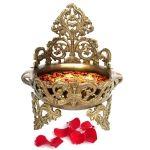 Decorative Brass Urli Floating Flower Pot