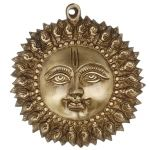 Decorative Sun Face Hanging Statue By Aakrati
