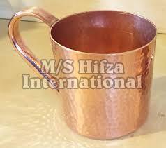 Copper Handle Mug