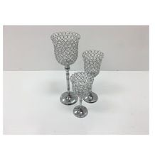 Silver Plated Wedding Candle Holder
