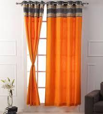 Plain Patch Curtains