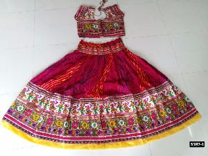 Navratri Special Ghagghra In Cotton Fabric