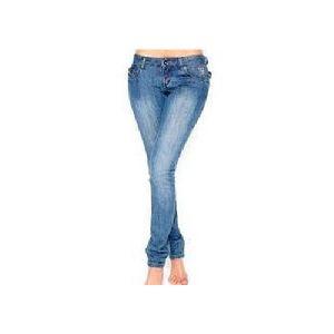 Ladies Plain Denim Jeans