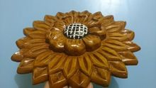 Hand Crafted Solid Wood Flower