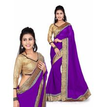 Exclusive Hand Work Ethnic Designer Handmade Saree