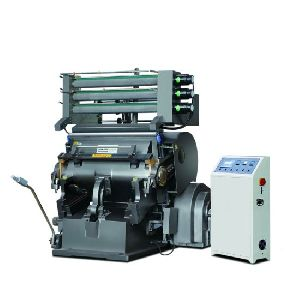 Die Cutting Machine With Hot Foil Stamping