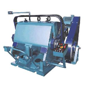 Die Punching And Embriusing Machine