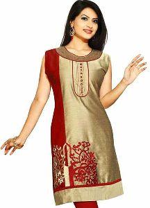 Ladies Designer Silk Kurti