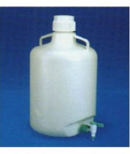 Carboy Vaccum Bottle With Stop Cock