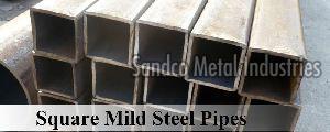 Square Mild Steel Pipes