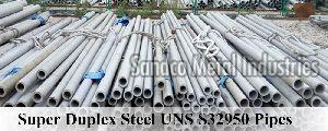 Uns S32950 Super Duplex Steel Pipes