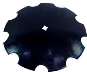 Notched/cutway Disc Blade