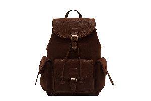 "16"" Leather Backpack Travel Rucksack Knapsack Daypack College Bag For Men Women Znt Bags"