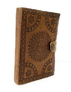 Leather Journal Handmade Papers Diary