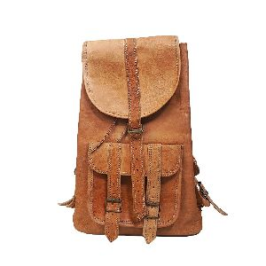 Znt Bags Leather Brown Bag For School/college/casual Use