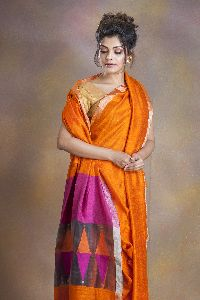 Pure Matka Silk Jamdani Saree