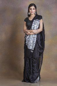 Shibori Pure Matka Silk Saree