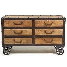 Industrial Recycled Indian Furniture