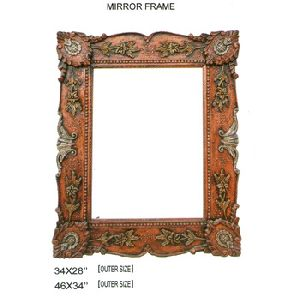 Handcrafted Wooden Mirror Frame
