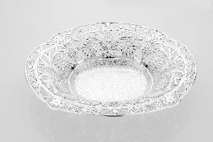 Bail Silver Plated Serving Bowls