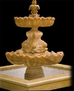 Indoor Stone Fountain