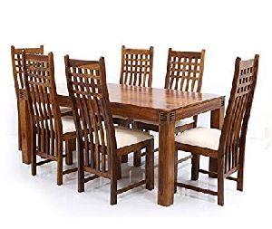 Wooden Restaurant Dining Table Set