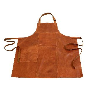 Leather Safety Apron