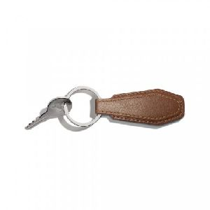 Personalised Leather Keychain