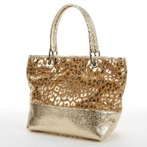 Suede Leather Shopping Bags