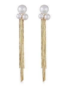 Fancy Artificial Long Earrings