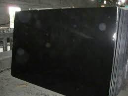 Black Emperador Granite Slab