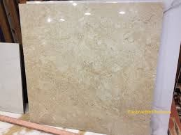 Polished Indian Crema Marble Tiles