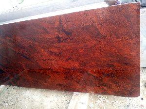 Red Emperador Granite Slab
