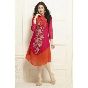 Ladies Embroidered Georgette Kurti