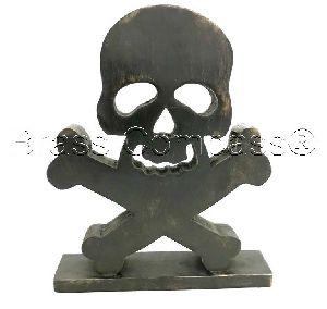 Natural Skeleton Skull Bones Halloween Craft