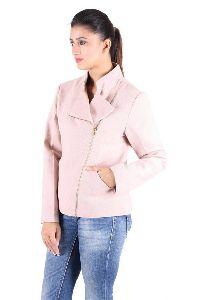 Pale Pink Lurex Wool Jacket