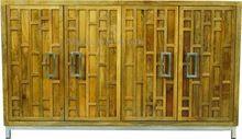 Rough Mango Wood Storage Cabinet Cum Tv Unit
