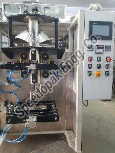5.5 Kw PLC Based Pneumatic Collar Type Auger Machine