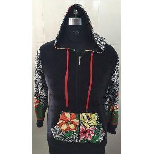 Girls Zipper Hoodie Sweatshirt