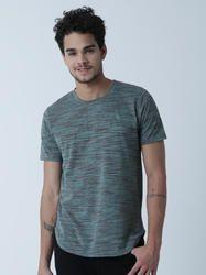 Men's Cotton Green Half Sleeve T Shirt