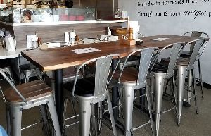 Restaurant Table and Chair Set