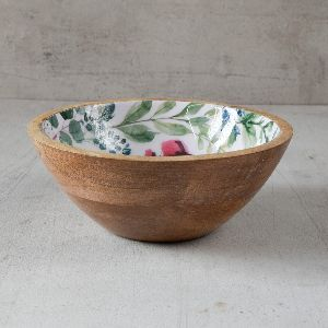 Wooden Fruit Bowls