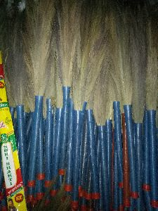 single pipe cap grass brooms