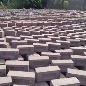Red Concrete Blocks