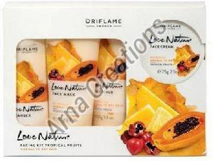 Oriflame Sweden Love Nature Facial Kit Tropical Fruits  (4 Items in the set)